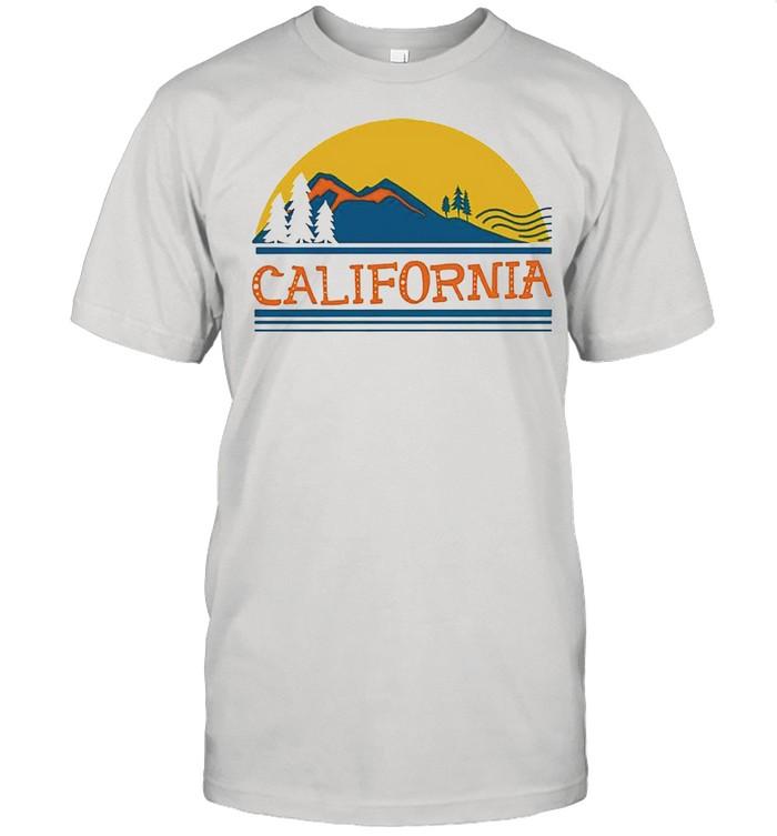 California sunset shirt Classic Men's T-shirt