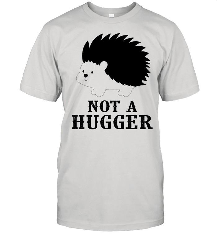 Hedgehog not a hugger shirt Classic Men's T-shirt
