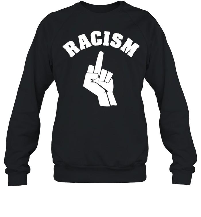Human Rights Racism BLM Fist Stop Langarmshirt shirt Unisex Sweatshirt