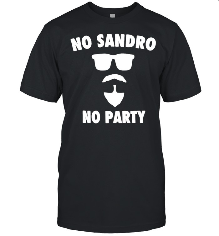 No sandro no party shirt Classic Men's T-shirt