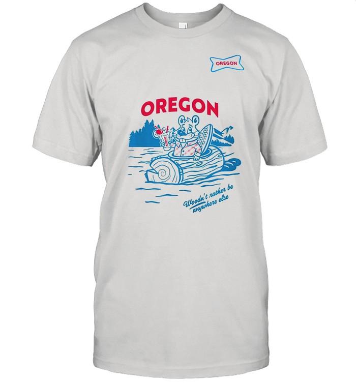 Sonic woodn't rather be anywhere else Oregon shirt Classic Men's T-shirt