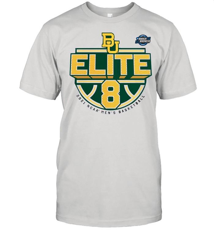 Baylor Bears 2021 NCAA Men's Basketball Tournament March Madness Elite 8 Bound Tri-Blend shirt Classic Men's T-shirt