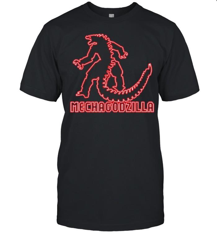 Godzilla – Kong vs Mechagodzilla Neon shirt Classic Men's T-shirt