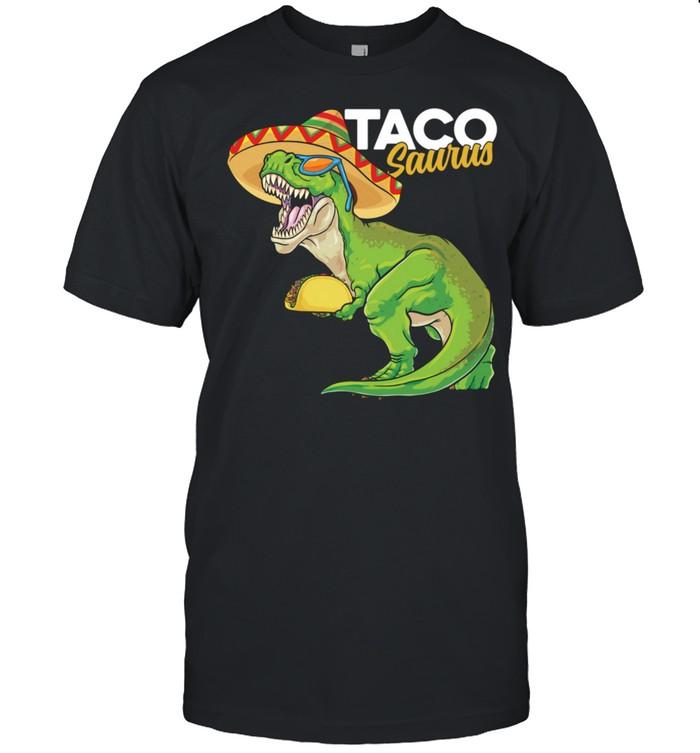 Tacosaurus Rex Cinco de Mayo Mexican Dinosaur Taco Rex  Classic Men's T-shirt