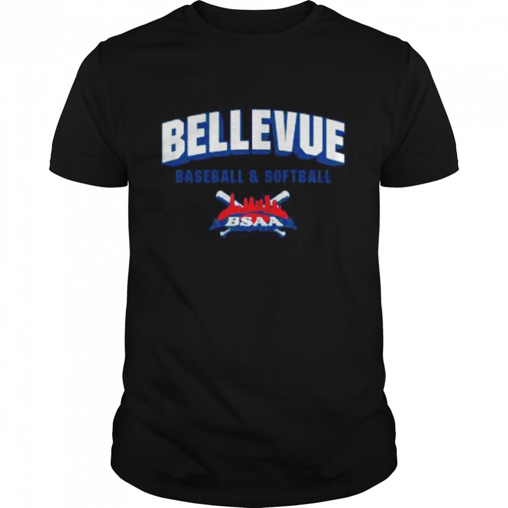 Bellevue Baseball And Softball Bsaa shirt Classic Men's T-shirt