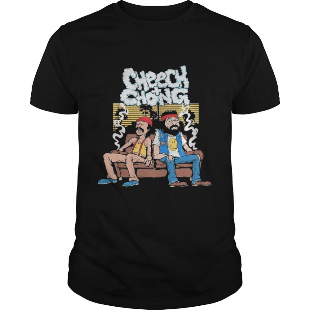Cheech and Chong Smoking shirt Classic Men's T-shirt