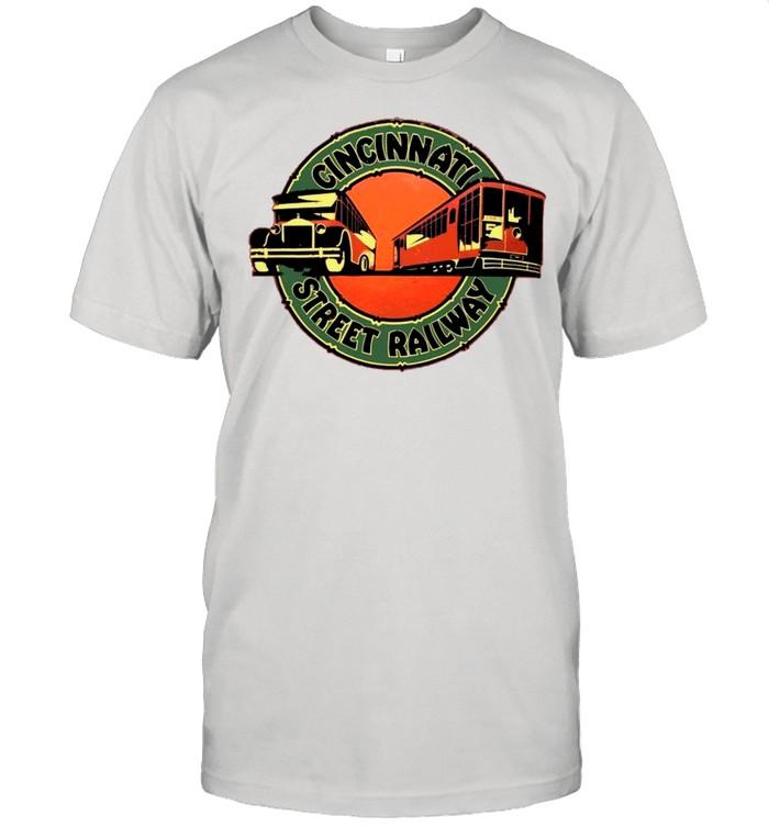 Cincinnati Street Railway shirt Classic Men's T-shirt