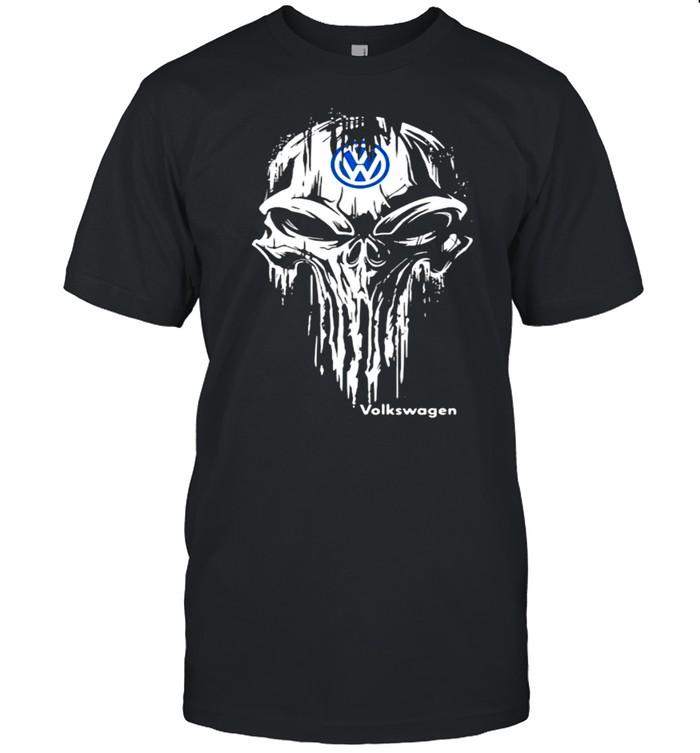 Punisher With Logo Volkswagen  Classic Men's T-shirt