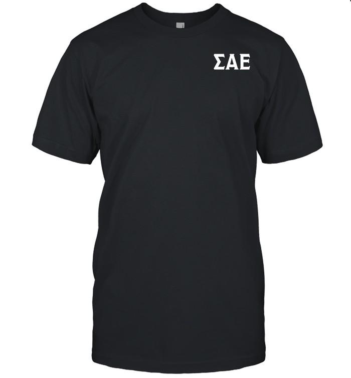 Sigma Alpha Epsilon Space Lion 2 SidedClick To See Back  Classic Men's T-shirt