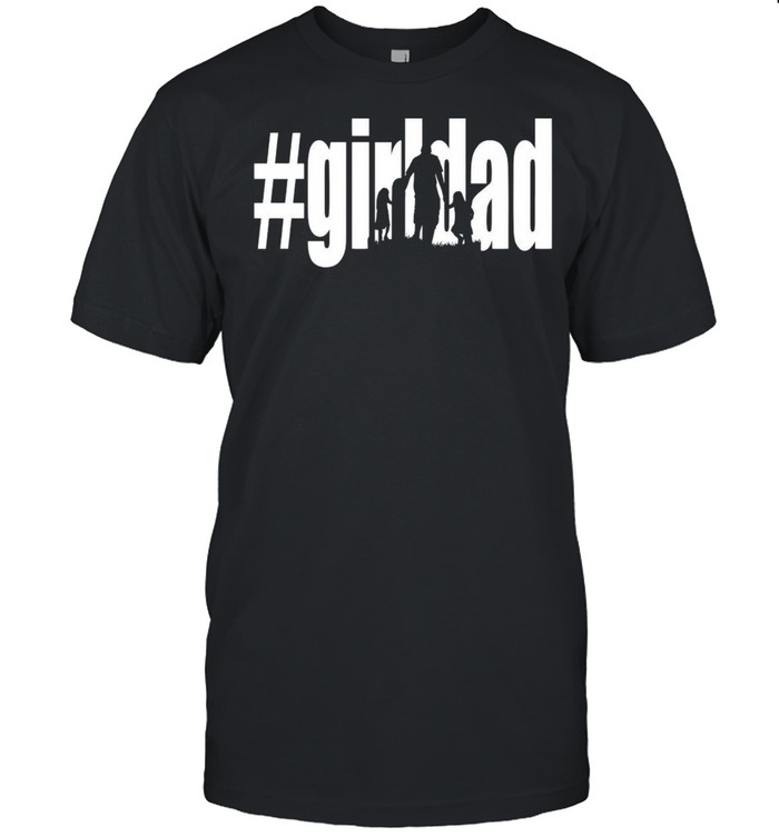 #Girl Dad Father's Day T-shirt Classic Men's T-shirt