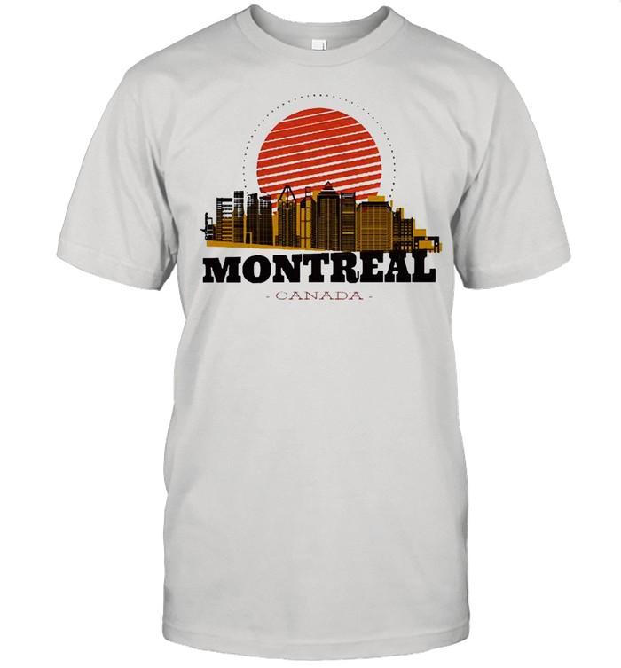 Montreal Canada Skyline shirt Classic Men's T-shirt