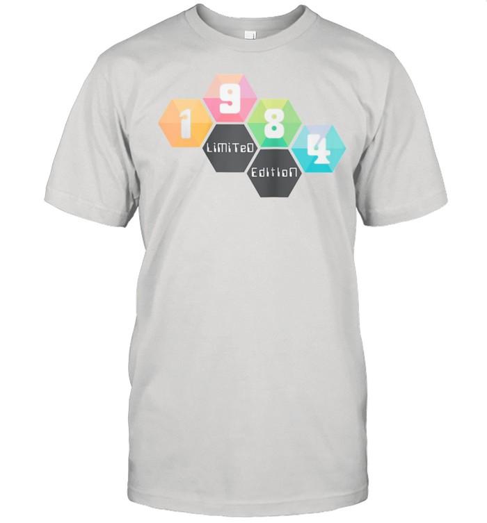 37th Birthday Man 37 Years Bday Year 1984  Classic Men's T-shirt