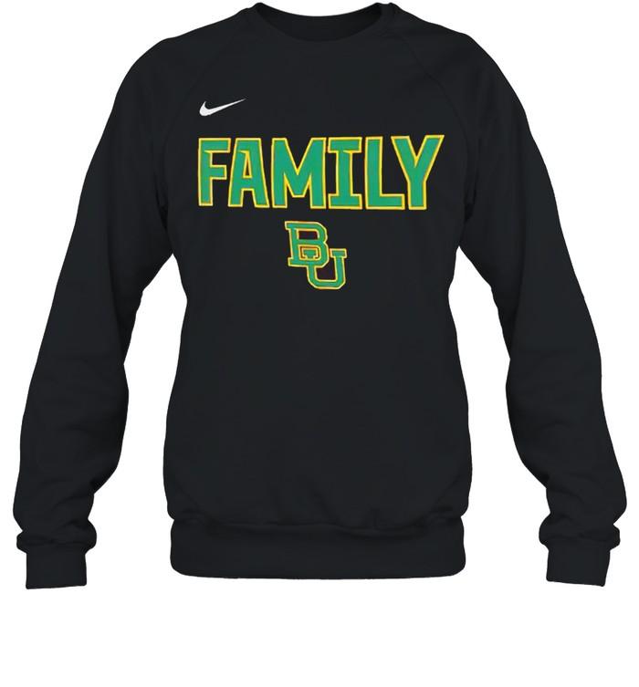 Baylor Bears nike 2021 NCAA men's basketball shirt Unisex Sweatshirt