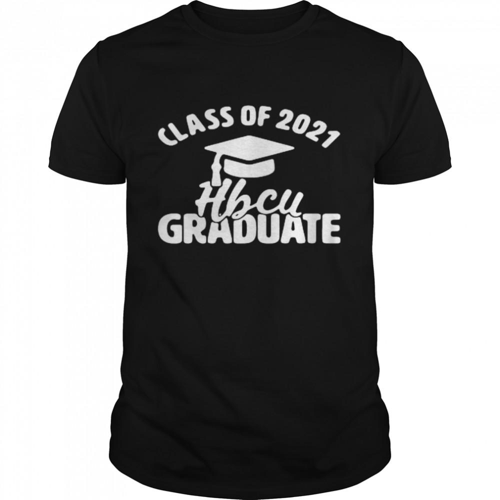 Class Of 2021 Hbcu Graduate Senior shirt Classic Men's T-shirt