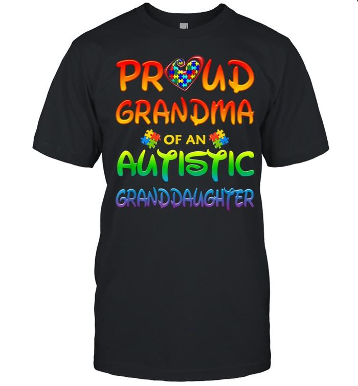 Grandma Of An Autistic Granddaughter  Classic Men's T-shirt