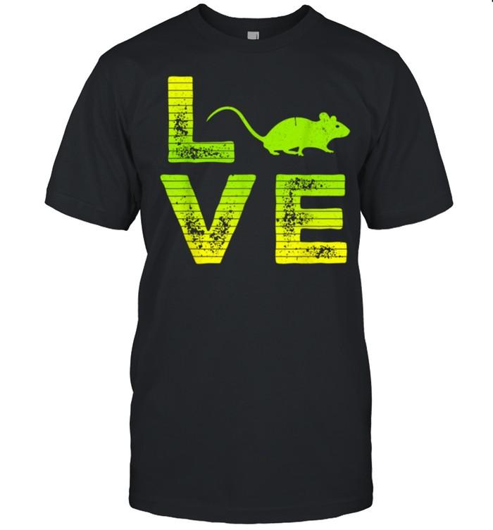 I Love Mouse Boys Girls Great shirt Classic Men's T-shirt