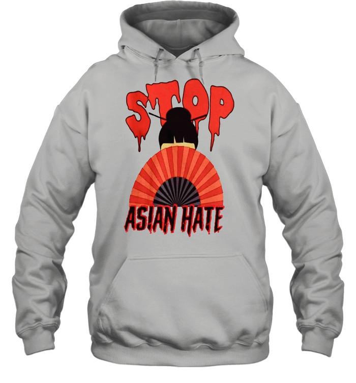 Stop Asian Hate Japanese Girl shirt Unisex Hoodie