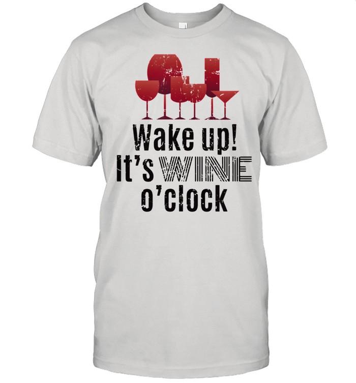 Wake Up For Wine  Classic Men's T-shirt