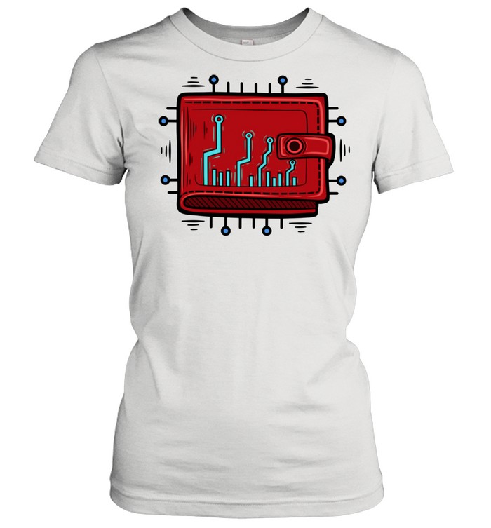 Blockchain Wallet Cryptocurrency HODL  Classic Women's T-shirt