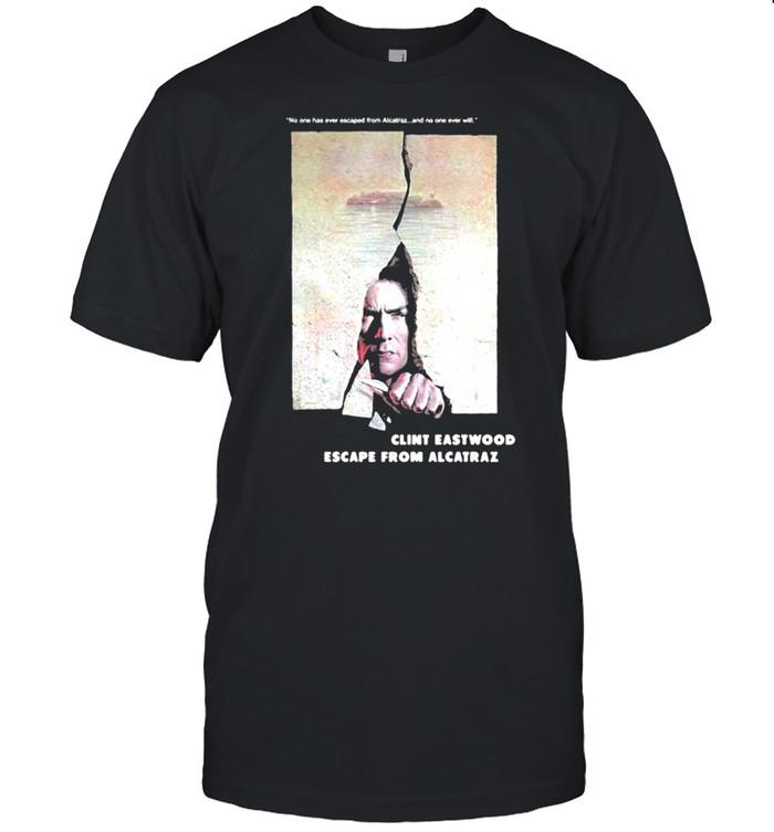 Escape From Alcatraz Clint Eastwood Escape From Alcatraz  Classic Men's T-shirt