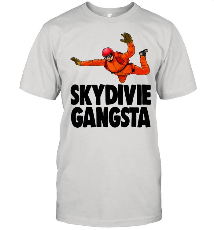 Skydivie Gangsta Skydive  Classic Men's T-shirt