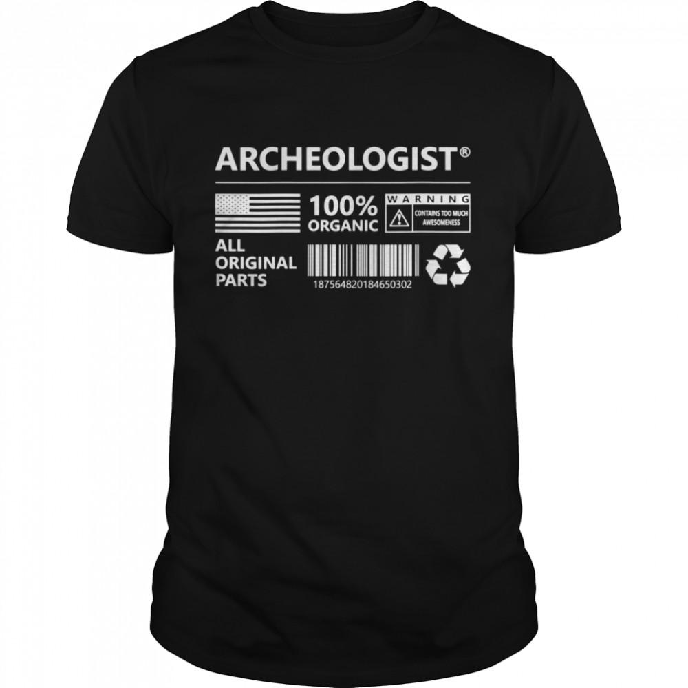Archeologist Marking Archeology shirt Classic Men's T-shirt