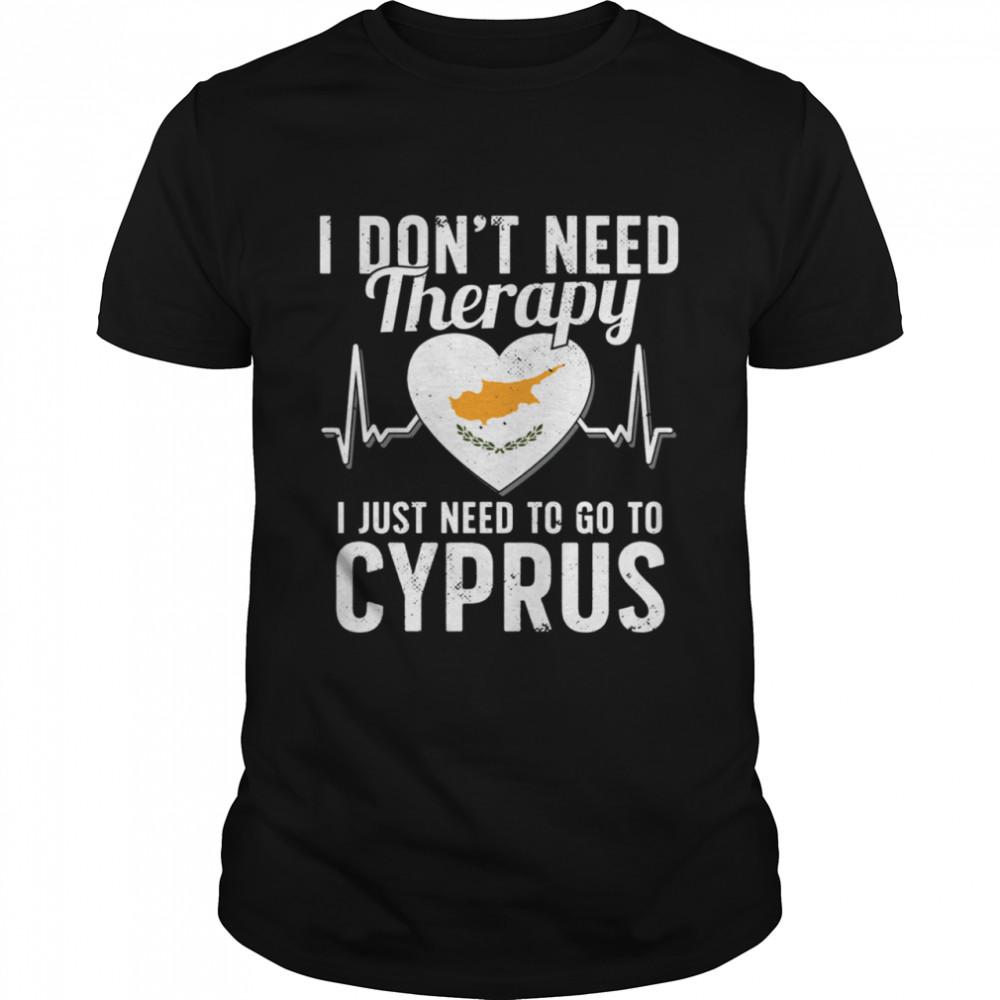 Cyprus Flag I Cyprus Flag I Vacation I Cyprus shirt Classic Men's T-shirt