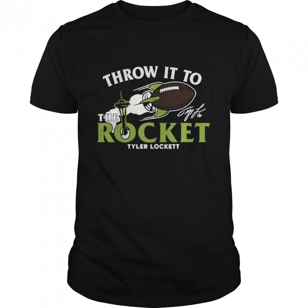 Throw it to the rocket tyler lockett shirt Classic Men's T-shirt
