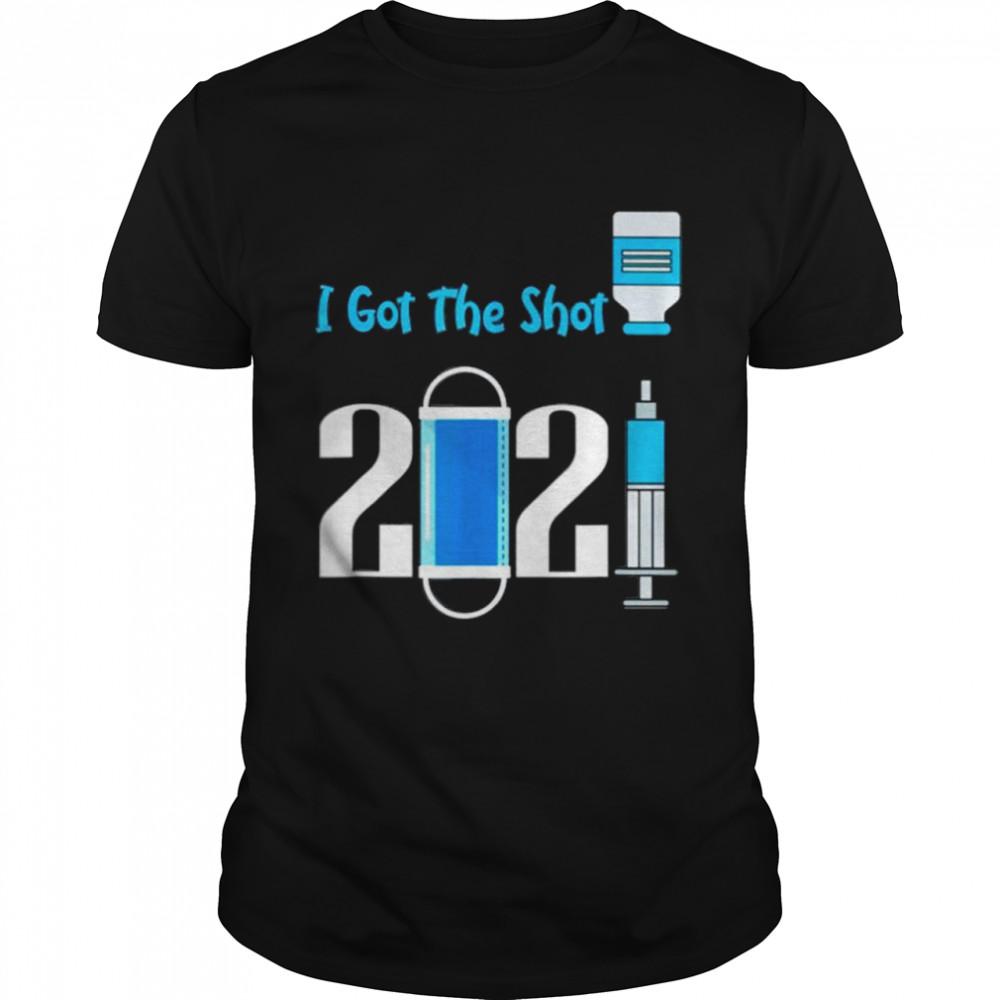 Virus vaccination I got the shot shirt Classic Men's T-shirt