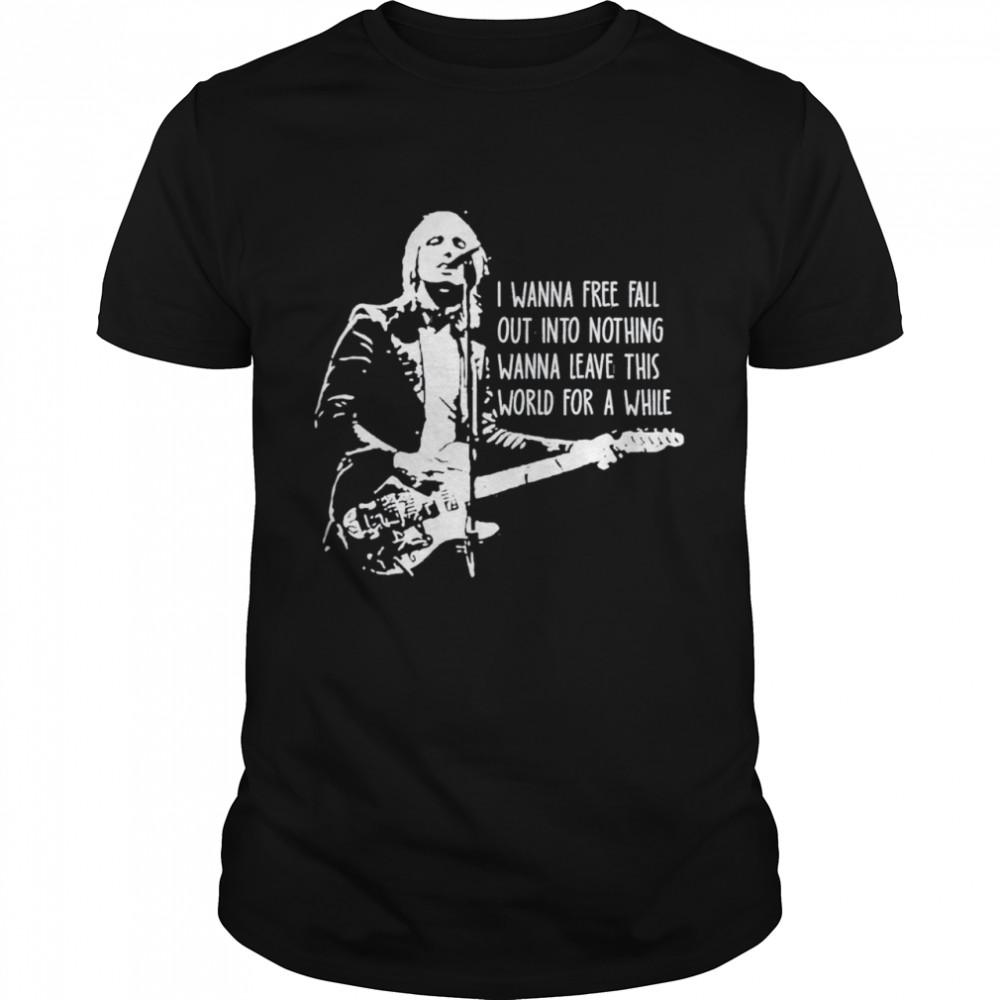 Black and White Retro Tom Art Petty Essential Country Music shirt Classic Men's T-shirt