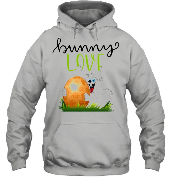 Bunny Rabbits Easter Day Egg Chocolate  Unisex Hoodie