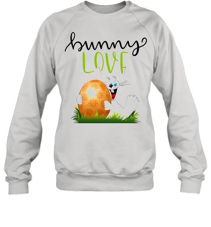 Bunny Rabbits Easter Day Egg Chocolate  Unisex Sweatshirt