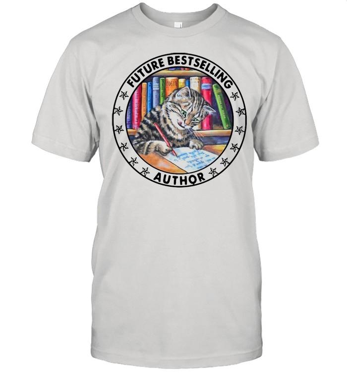 Cat Future Bestselling Author Vintage T-shirt Classic Men's T-shirt