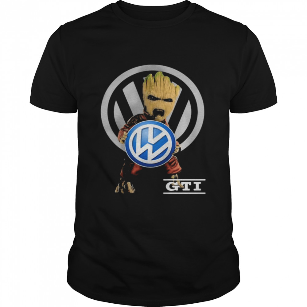 Groot With GTI Logo  Classic Men's T-shirt