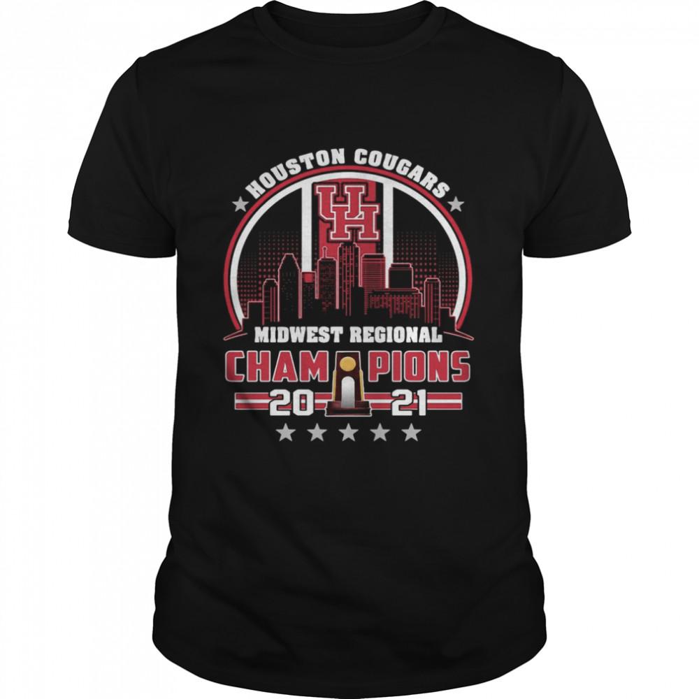 Houston Cougars midwest regional champions 2021 shirt Classic Men's T-shirt