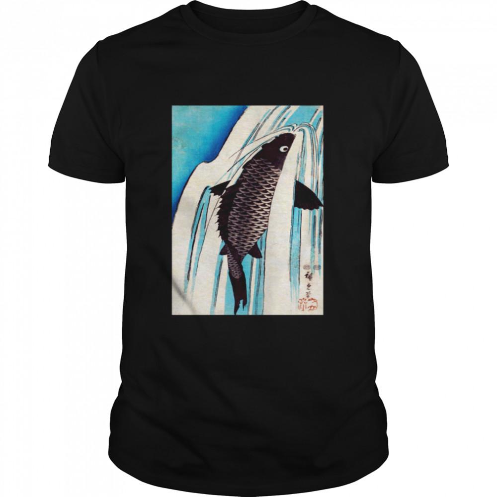 Japanese Art Fish  Classic Men's T-shirt