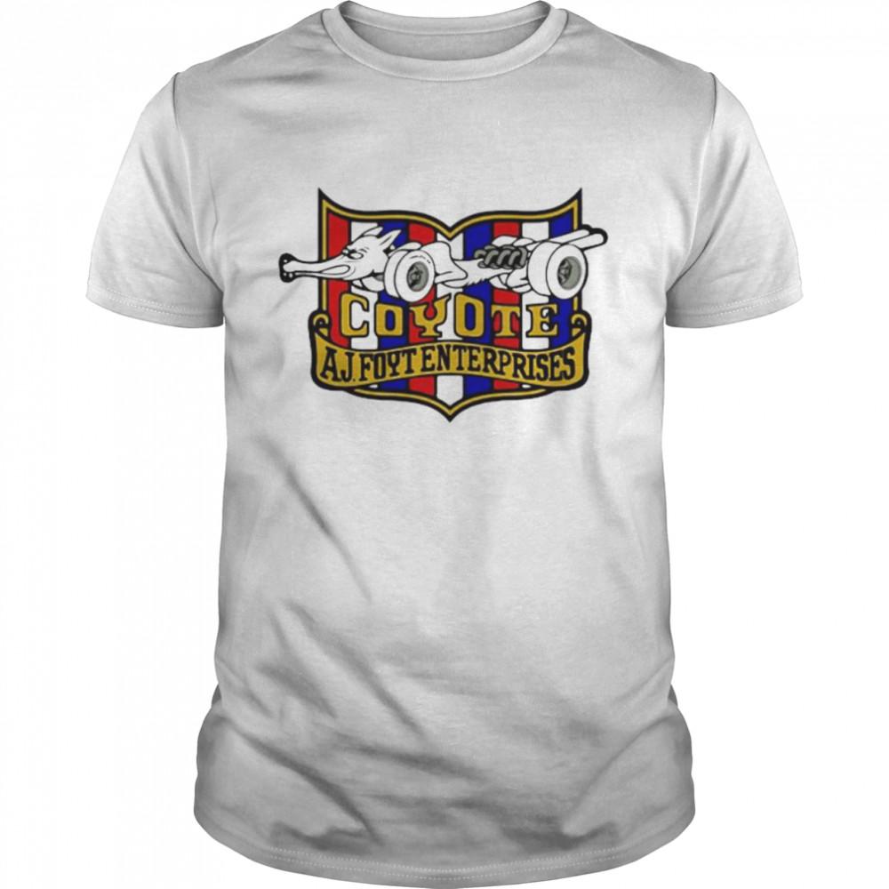 Nascar Foyt Coyote Aj Foyt Enter Prises  Classic Men's T-shirt