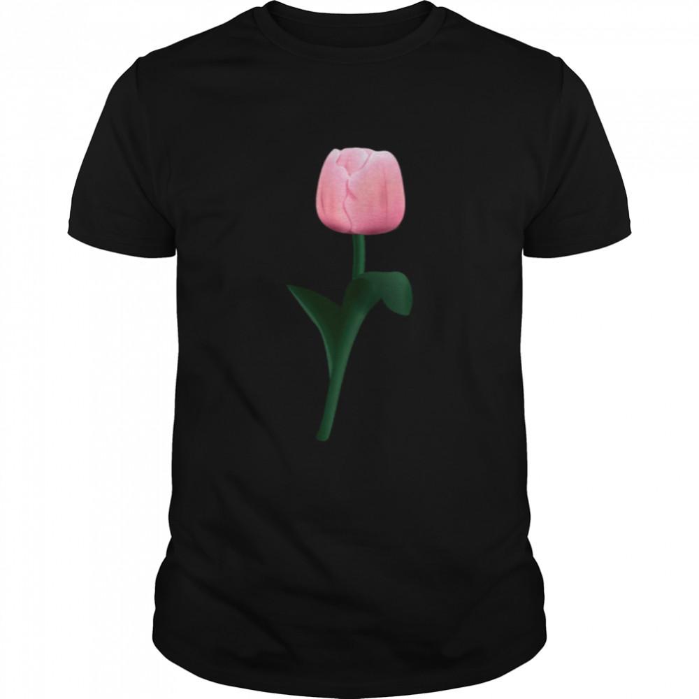 Pretty Tulip Spring Flower  Classic Men's T-shirt