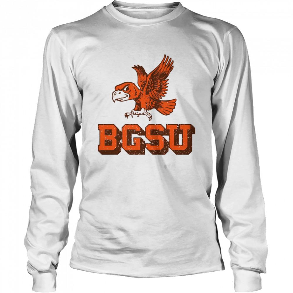 Bowling Green State University Flying Falcon shirt Long Sleeved T-shirt