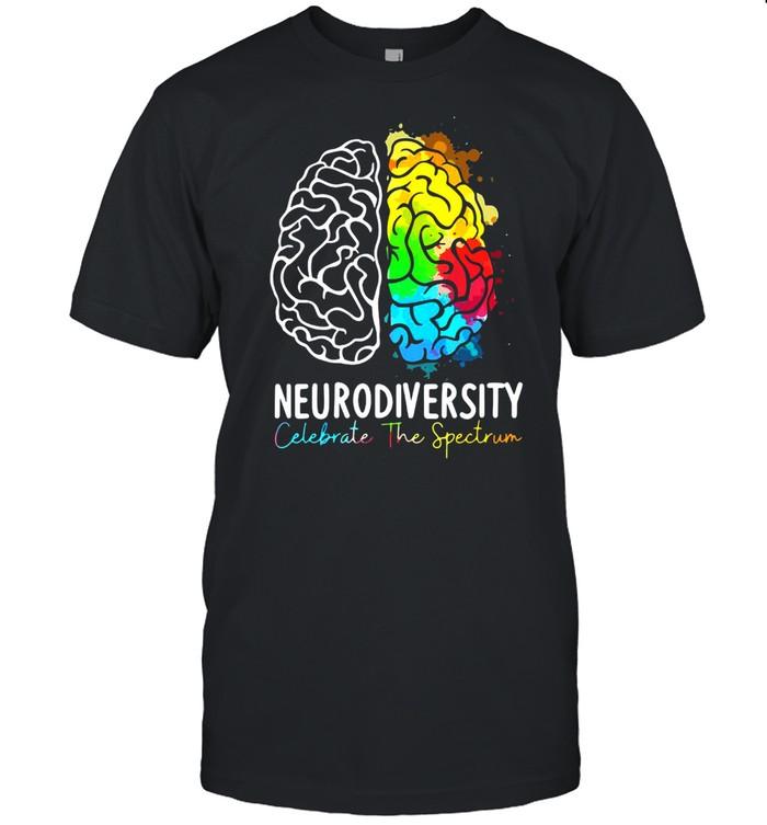 Neurodiversity Celebrate The Spectrum T-shirt Classic Men's T-shirt