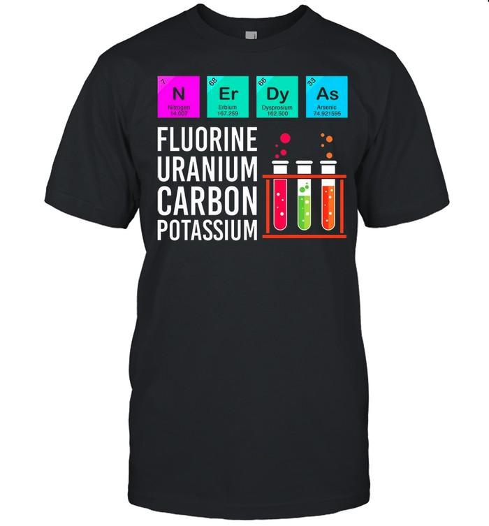 Flourine Uranium Carbon Potassium shirt Classic Men's T-shirt
