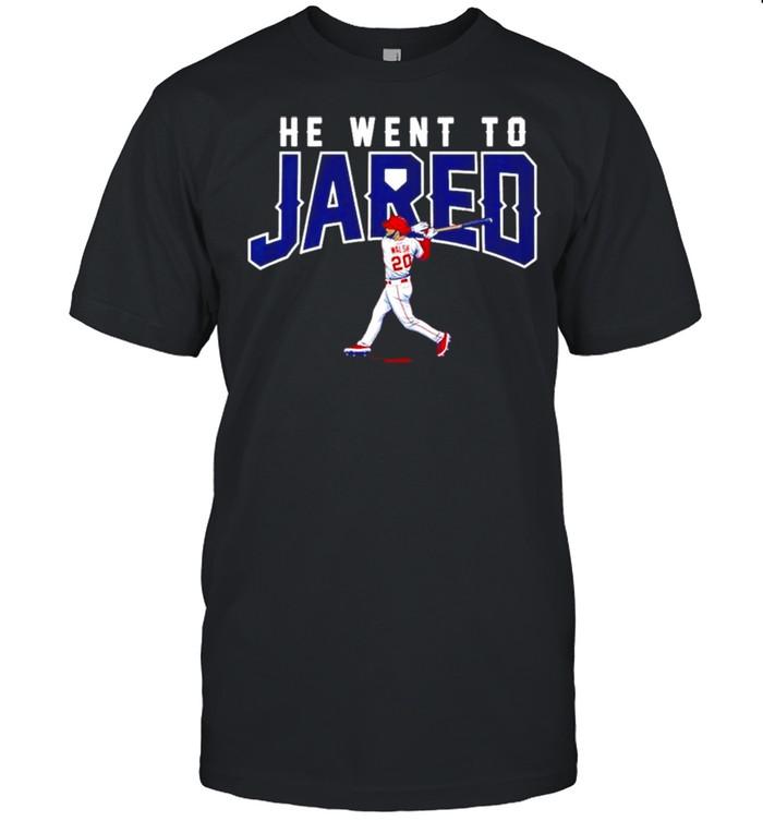 Jared Walsh he went to Jared shirt Classic Men's T-shirt
