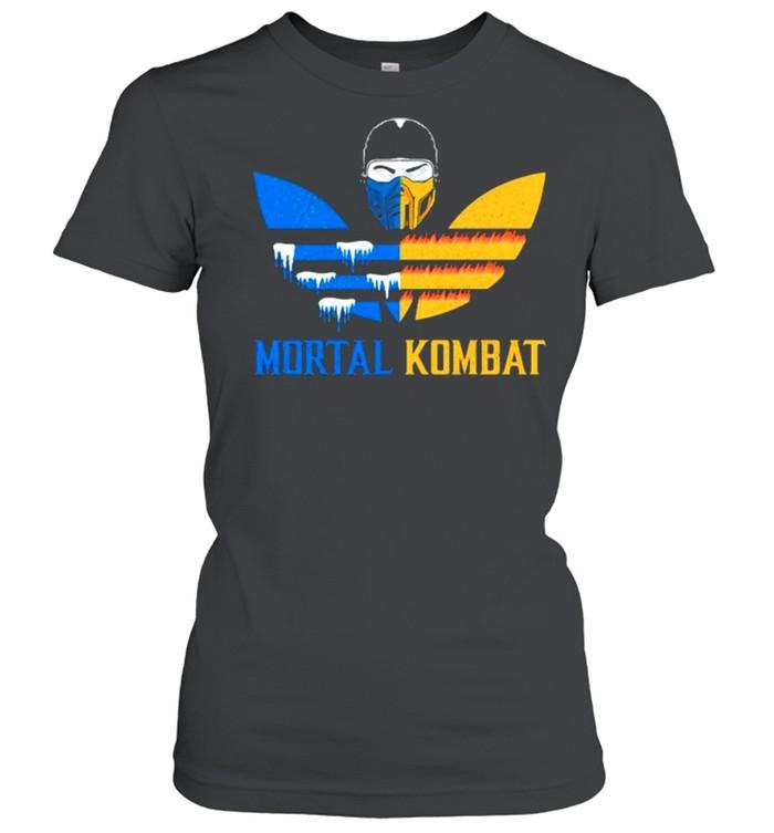 Mortal Kombat Logo Adidas  Classic Women's T-shirt