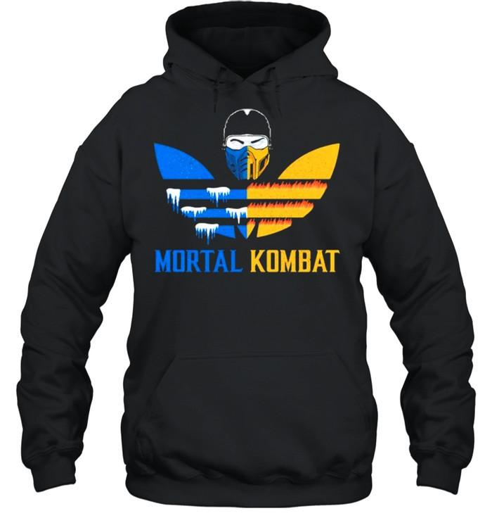 Mortal Kombat Logo Adidas  Unisex Hoodie