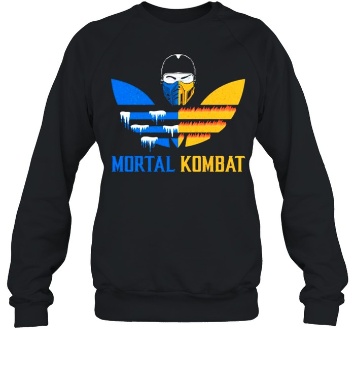 Mortal Kombat Logo Adidas  Unisex Sweatshirt