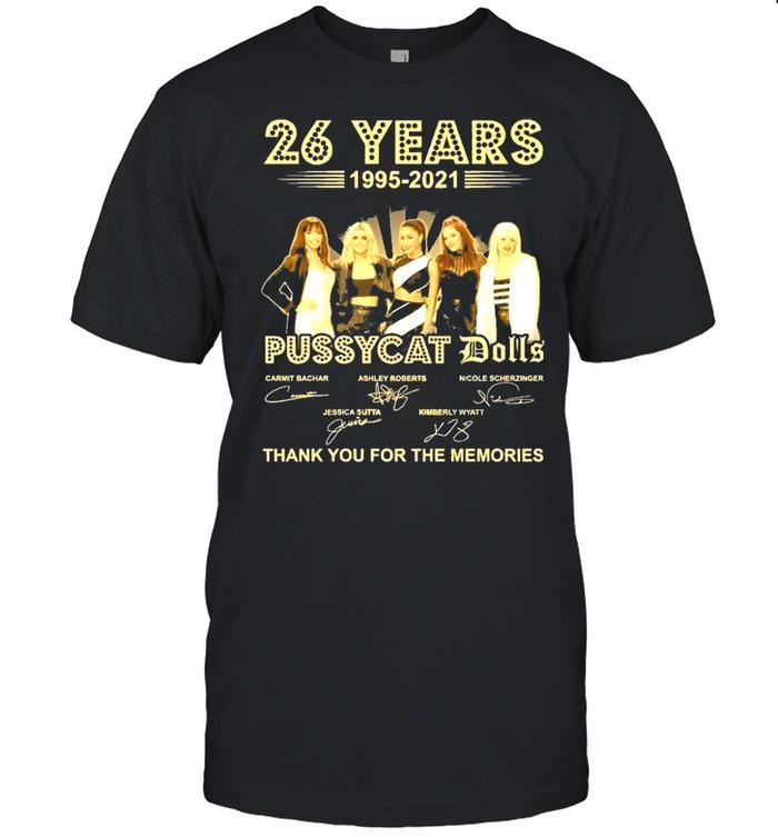 Pussycat dolls 26 years 1995 2021 thank you for the memories shirt Classic Men's T-shirt