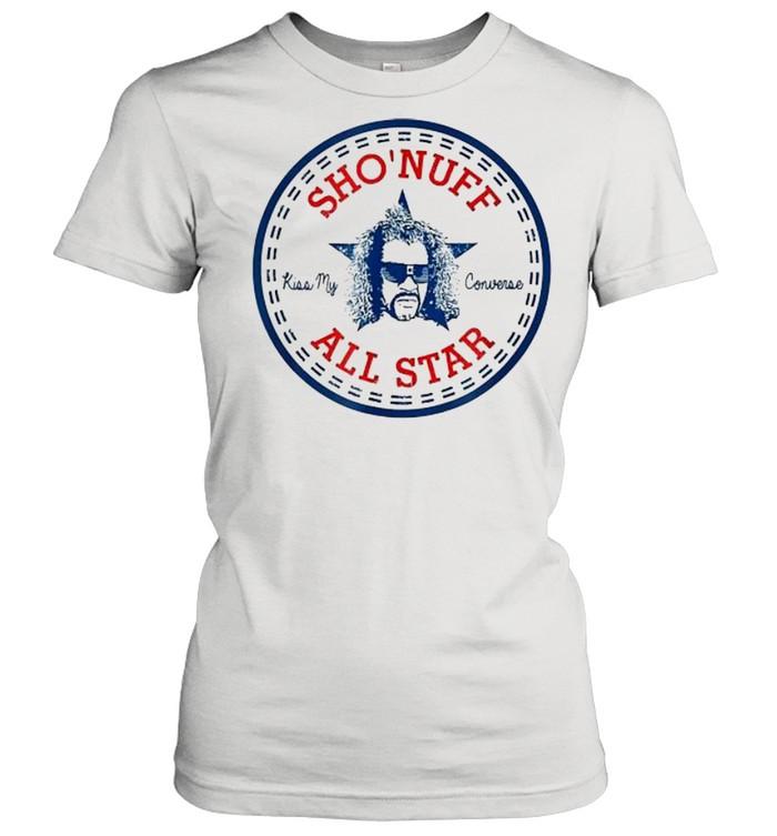 Sho Nuff All Star Logo  Classic Women's T-shirt