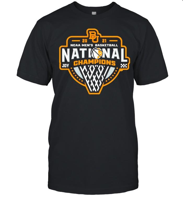 BU Baylor Bears 2021 NCAA Men's Basketball Joy Champions shirt - Copy Classic Men's T-shirt