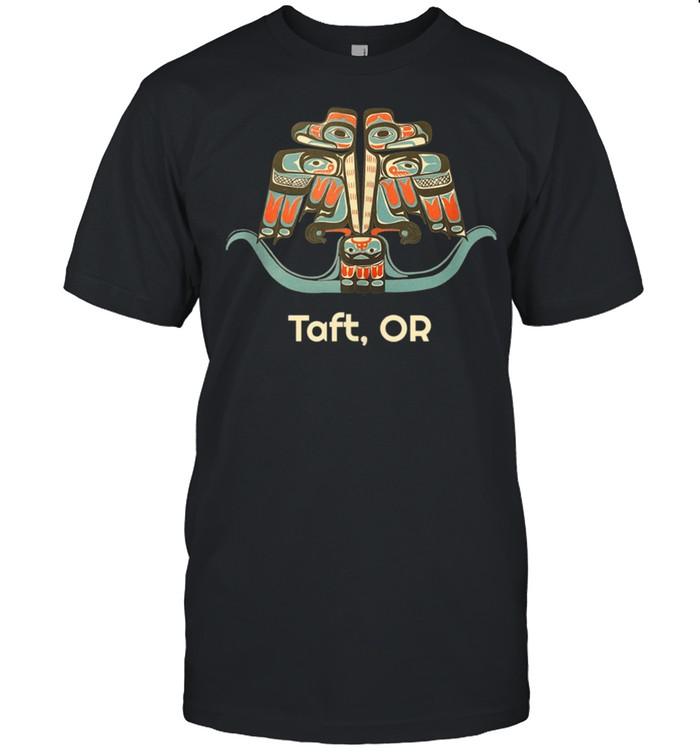 Taft Oregon Thunderbird NW Native American shirt Classic Men's T-shirt