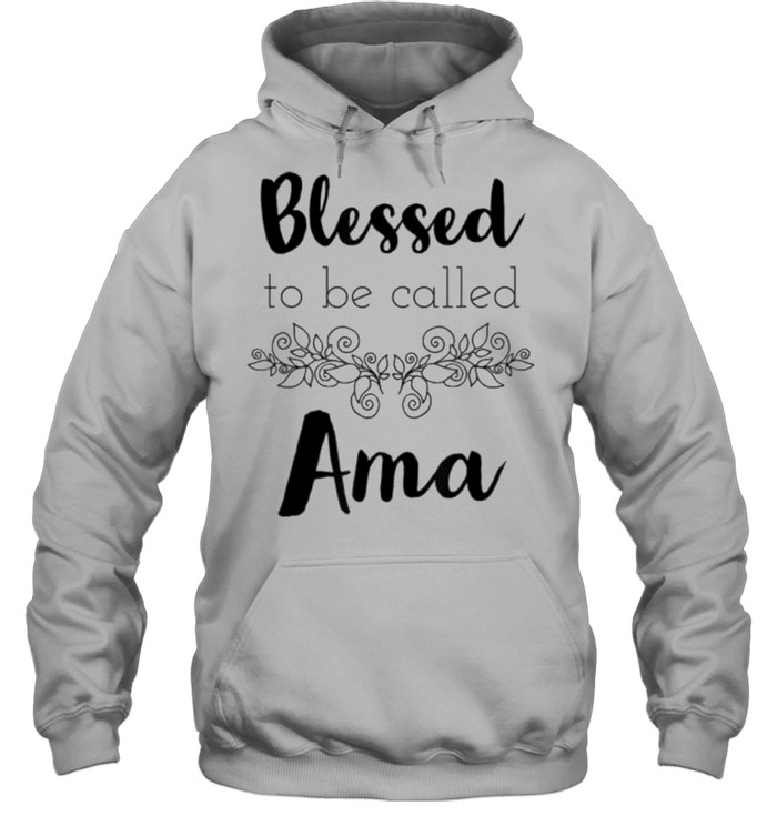 Blessed to be called nana shirt Unisex Hoodie